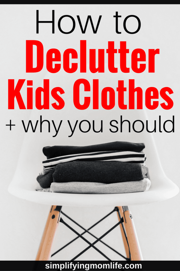 This was so helpful! How to Declutter Kids Clothes - decluttering kids clothes, organize kids clothes, capsule wardrobe for kids