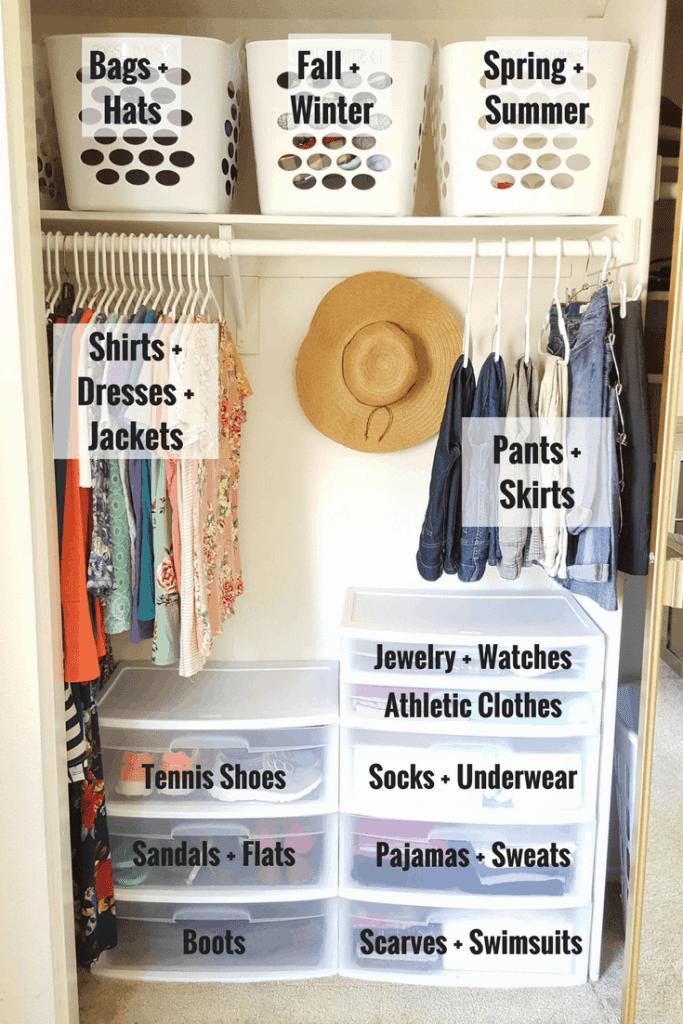 5 Simple Steps to Organizing a Postpartum Closet - Simplifying Mom Life