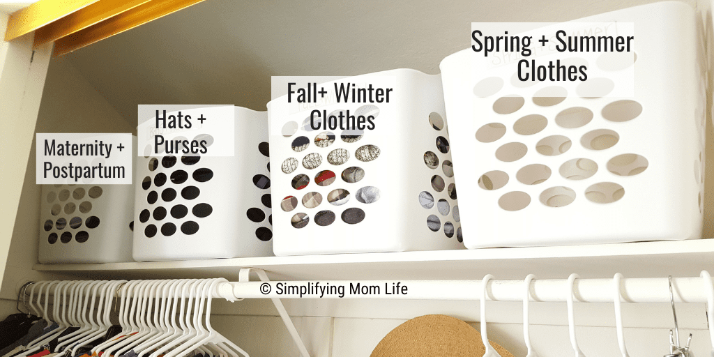 Organize a Closet on a Budget - Simplifying Mom Life