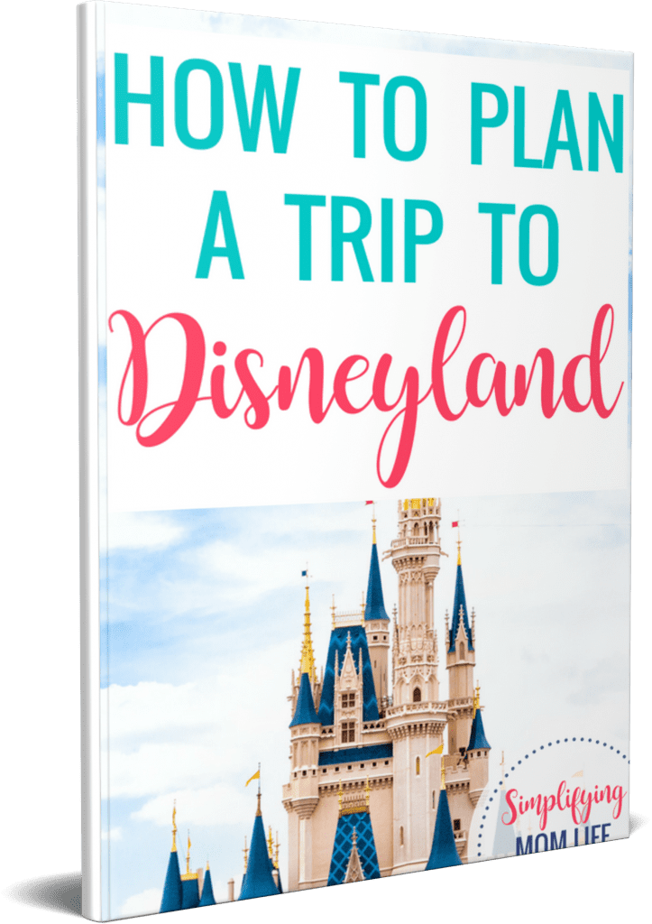 How to Plan a Trip to Disneyland Guide Ebook