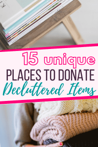 places-to-donate-decluttered-items